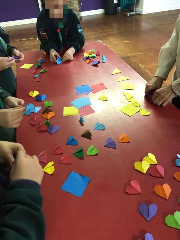 Paper Hearts World Record Attempt
